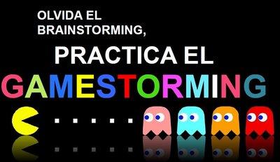 Ponencia Olvida Brainstorming, practica Gamestorming