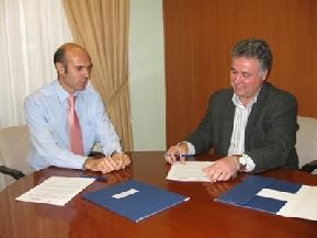 Firma convenio colaboración con ADL Alicante