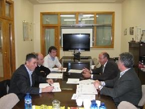 Sesión trabajo con Ayuntamientos comarca