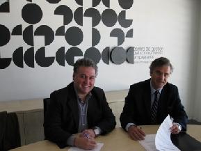 Firma convenio colaboración con CGCE