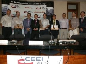 Entrega premios CEEI IMPIVA