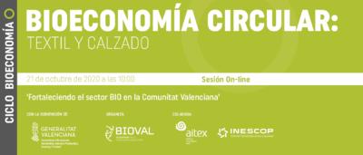 Banner Ciclo Bioeconmia Circular: Textil y Calzado