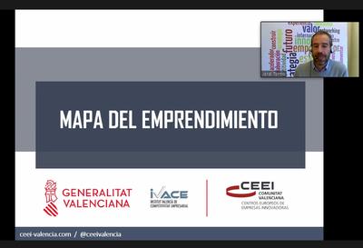 Jordi Tormo explicó el Mapa del Emprendimiento