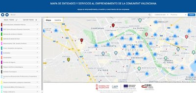 Mapa del Ecosistema de Emprendimiento