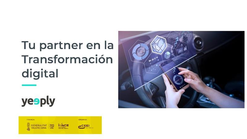 Presentación de Héctor Badal de Yeeply en la sesión Ecommerce y marketplaces: vender online en tiempos post covid