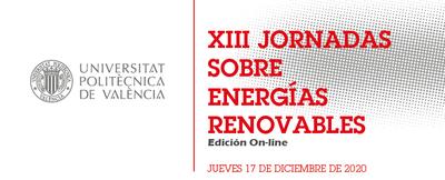 XIII Jornada sobre Energías Renovables