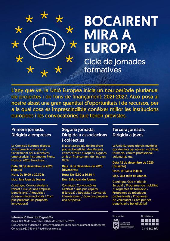 """Jornades Formatives """"Bocairent Mira a Europa"""""""