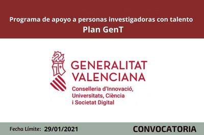 Ayudas Investigadores Plan GenT