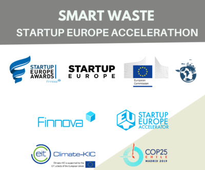 Smart Waste Startup Europe Accelerathon