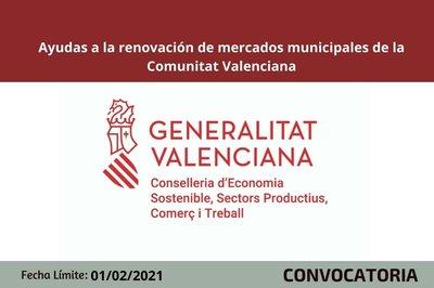Ayudas renovación mercados municipales 2021