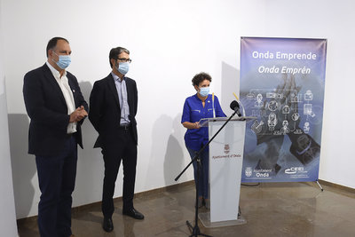 El Ayuntamiento de Onda se alía con el CEEI para potenciar el talento local y ayudar a las empresas a reinventarse ante la crisis