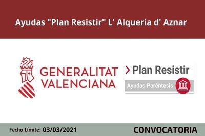 Ayudas Plan Resistir Alqueria Aznar