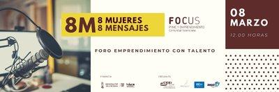Banner Foro Emprendimiento con talento 8 MARZO