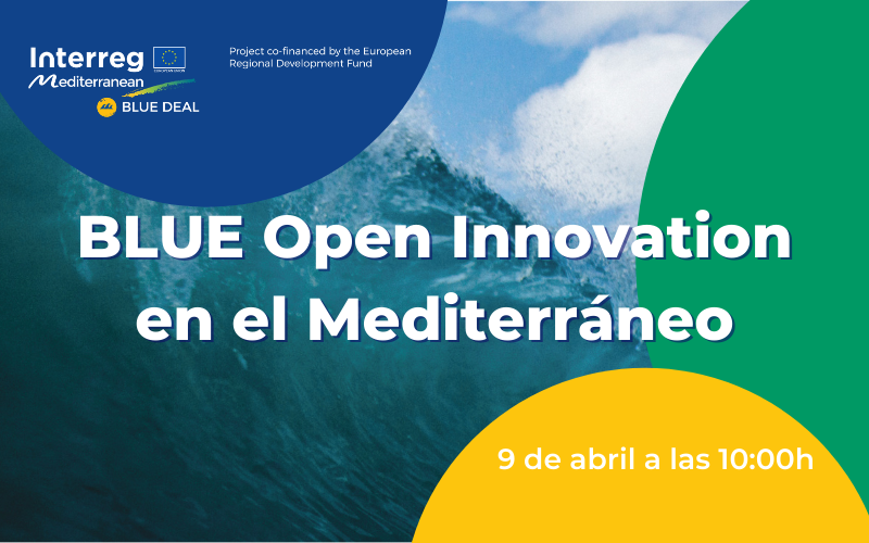 Webinar:  BLUE Open Innovation en el Mediterráneo[;;;][;;;]