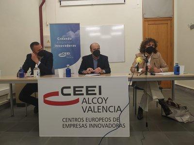 Rueda de prensa balance 2020 CEEI Alcoy-Valencia