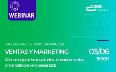 Webinar: Cómo mejorar los resultados alineando marketing y ventas.